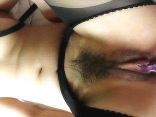 She Sucks His Small Dick Before He Fucks Her With a Vibrator