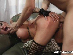 Incredible pornstars Small Hands, Lola Luscious, Xander Corvus in Exotic Brunette, Fake Tits adult scene
