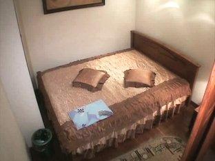 Hidden camera in bedroom