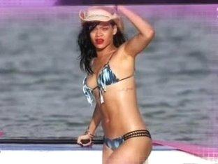 Rihanna - Bikini Booty Surfing compilation