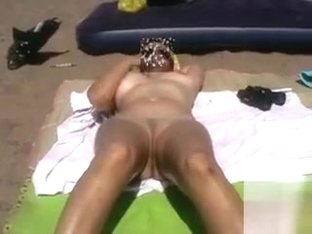 POV sex at the beach with her wet cunt