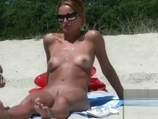 Breathtaking beauty with small tits tans nude