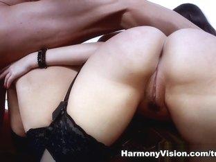 Amazing pornstars Ava Dalush, Laela Pryce in Crazy Pornstars, Threesomes sex clip