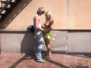 Amazing pornstar in best creampie, european sex video