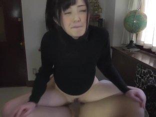 Best Japanese slut Emiri Suzuhara in Exotic fingering, couple JAV movie