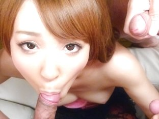 Fabulous Japanese girl Hikaru Shiina in Incredible JAV uncensored Handjobs video