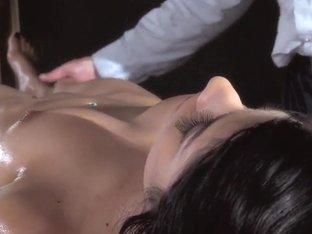 Bill Bailey pleasures busty latina Megan Salinas