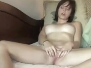 Real College Sweetheart Acquires In Nature's Garb And Masturbates