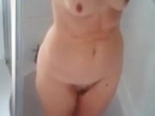 My wife takes a shower two