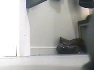 Chick caught changing on hidden voyeur camera