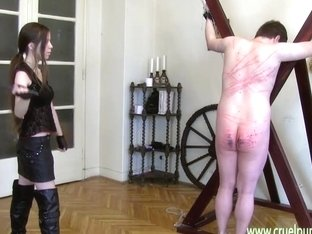 Heartless Lady Victoria - Caning, Whipping, Bastinado