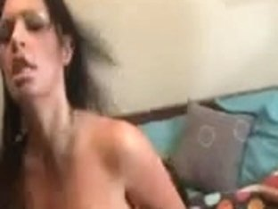 British tattoed wench screwed on the sofa