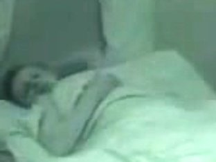 Hidden cam in room captured hot night sex and sweet moans