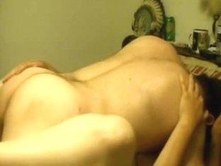 Mature tramp sucks and fucks