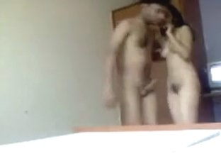 Sexy Indian College Pair's foreplay actions