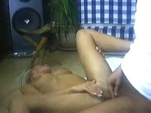 Super hot blonde fucking