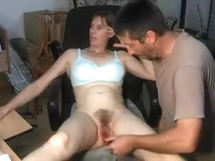 My amateur cougar porn shows me rubbing my beaver until my boyfriend comes in and fucks the hell o.