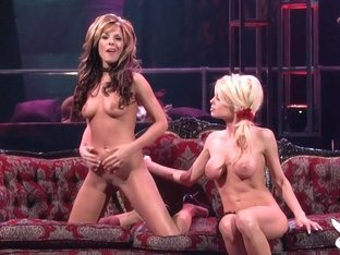Incredible pornstars in Amazing Big Tits, Lesbian adult video