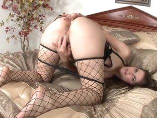 Incredible pornstar Bobbi Starr in crazy masturbation, big ass adult scene