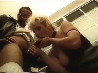 Blonde MILF and BBC - Vintage IR Anal