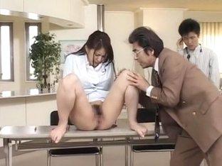 Crazy Japanese chick Mina Nakano in Amazing Cumshots JAV movie