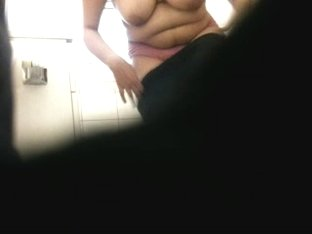 Big Tit Latina Shower.
