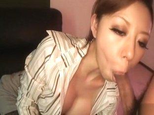 Exotic Japanese whore in Horny Uncensored, Bukkake JAV movie