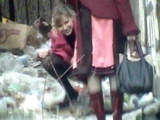 Girls Pissing voyeur video 331