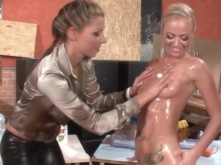 Best pornstars Eliss Fire and Morgan Moon in crazy blowjob, european porn video