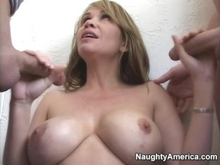 Bridgette Monroe & Jack Venice & Trent in My Friends Hot Mom