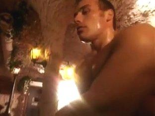 Orgy in club