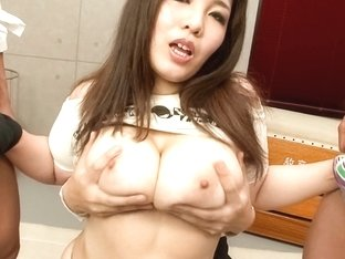 Best Japanese whore Yume Sazanami in Crazy JAV uncensored Cumshots video
