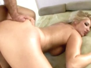 Golden haired Jordan Kingsley gets ass pounded
