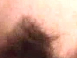 Hairy pussy close-up plus fuck