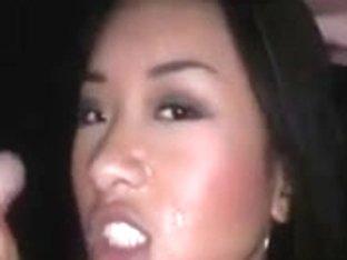 asian slut double blowjob and facial at gloryhole, pro rider