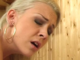 PimpPassport Video: blonde girl in a massage room