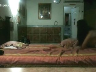 Hot latina cheats on her bf with her lover in her hotel