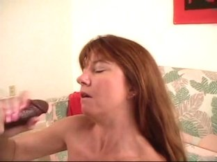 Cum from BBC on her face