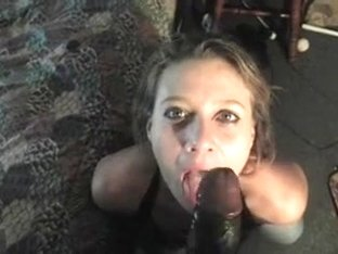 Mature I'd Like To Fuck cock-sucker acquires down on a dark wang