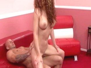 Hottest pornstar in horny redhead, facial porn movie