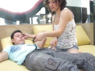 Petite Mexican Teen Fucks Best Friend