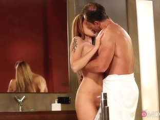 Crazy pornstars Simona Nikolay, George in Exotic MILF, Romantic porn scene