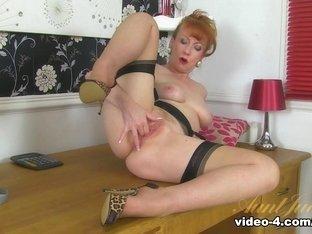 Incredible pornstar in Best Stockings, Redhead adult scene