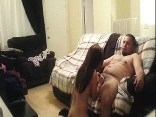 cogiendo en el couch