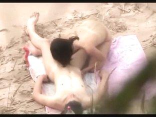 Nude Beach - Deep Riding & Doggy