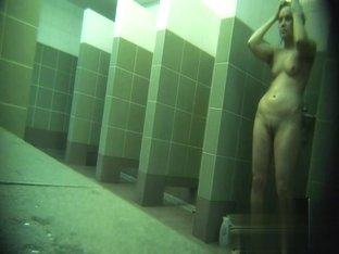 Hidden cameras in public pool showers 849