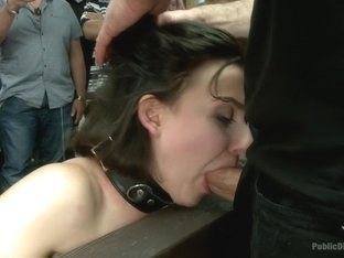 First ever porn shoot- amateur cutie takes it all!