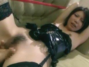 Best Japanese girl Reina Yuuki in Amazing Threesomes, DP/Futa-ana JAV video