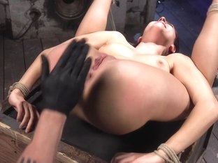 Nikki Knightly & The Pope in Newcomer Is Man Handled, Bound In Brutal Bondage And Tormented - HogT.