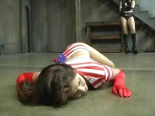 Superheroine Cali Humiliated